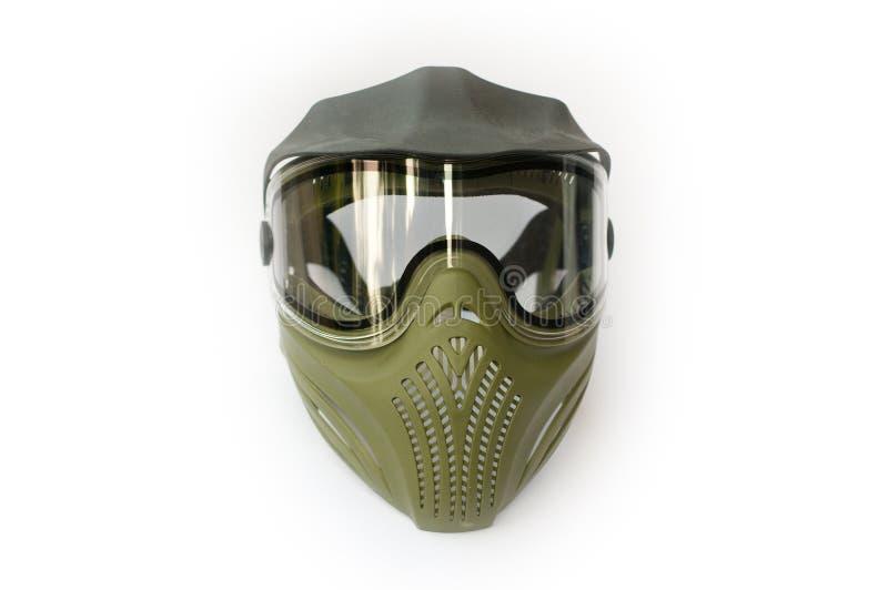 Máscara protectora del Paintball fotos de archivo