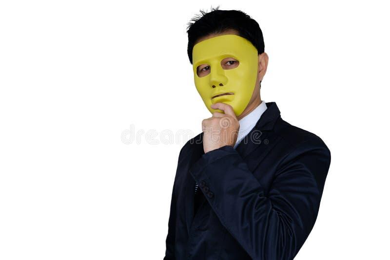 Máscara que lleva del hombre fotos de archivo libres de regalías