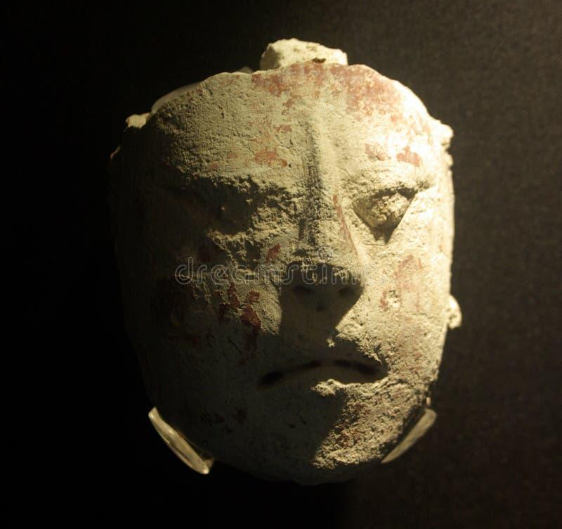 Máscara religiosa maia foto de stock royalty free