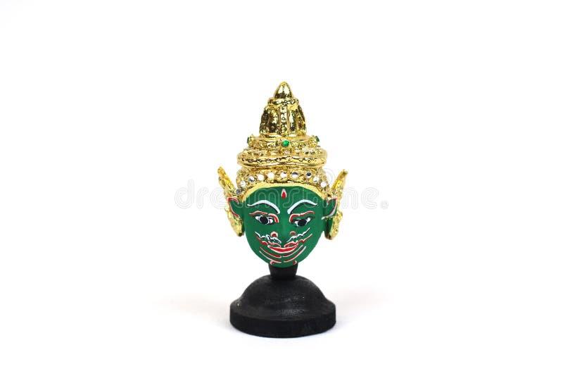 Máscara tailandesa tradicional do ` s do ator imagem de stock royalty free