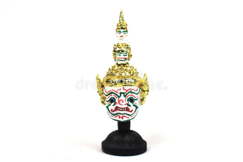 Máscara tailandesa tradicional do ` s do ator imagens de stock royalty free