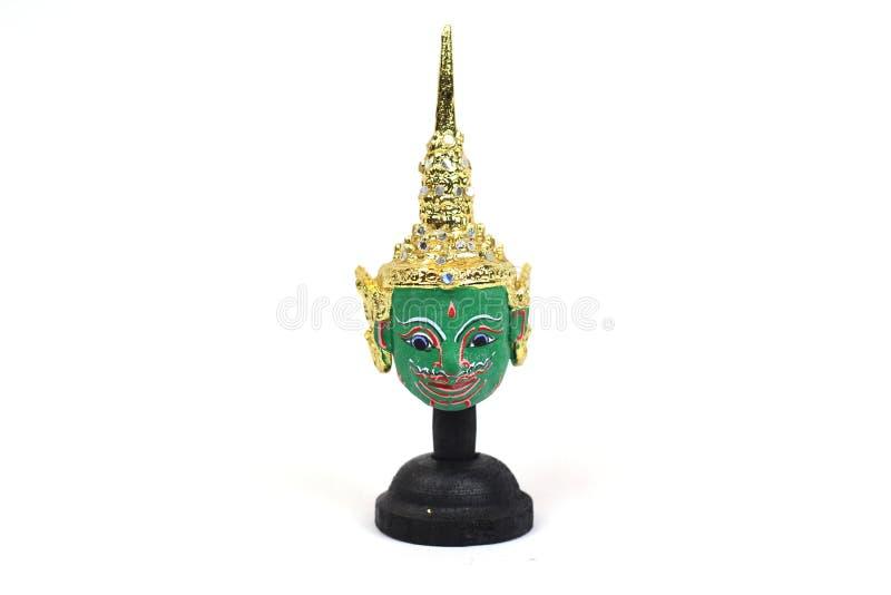 Máscara tailandesa tradicional do ` s do ator, Khon imagem de stock royalty free