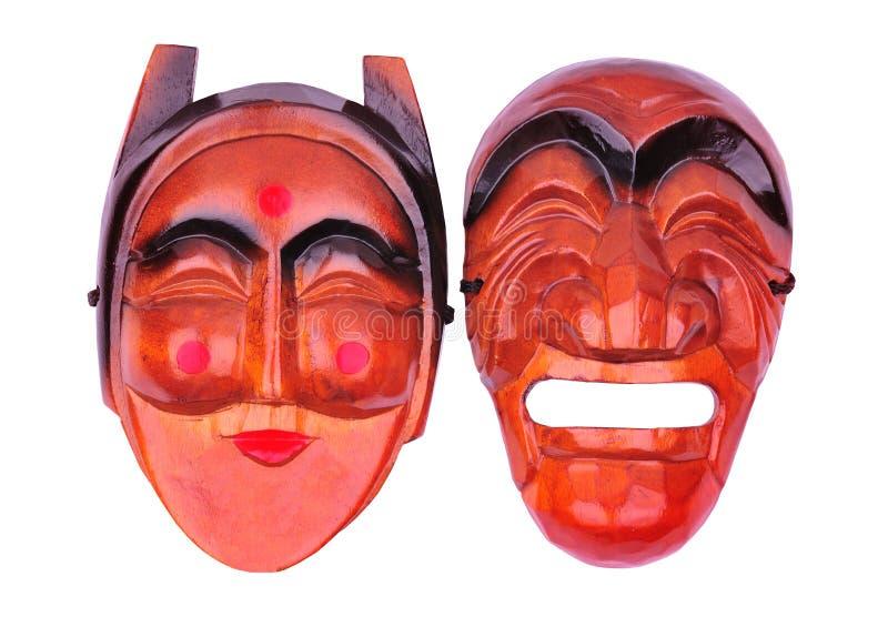 Máscara tradicional coreana imagem de stock