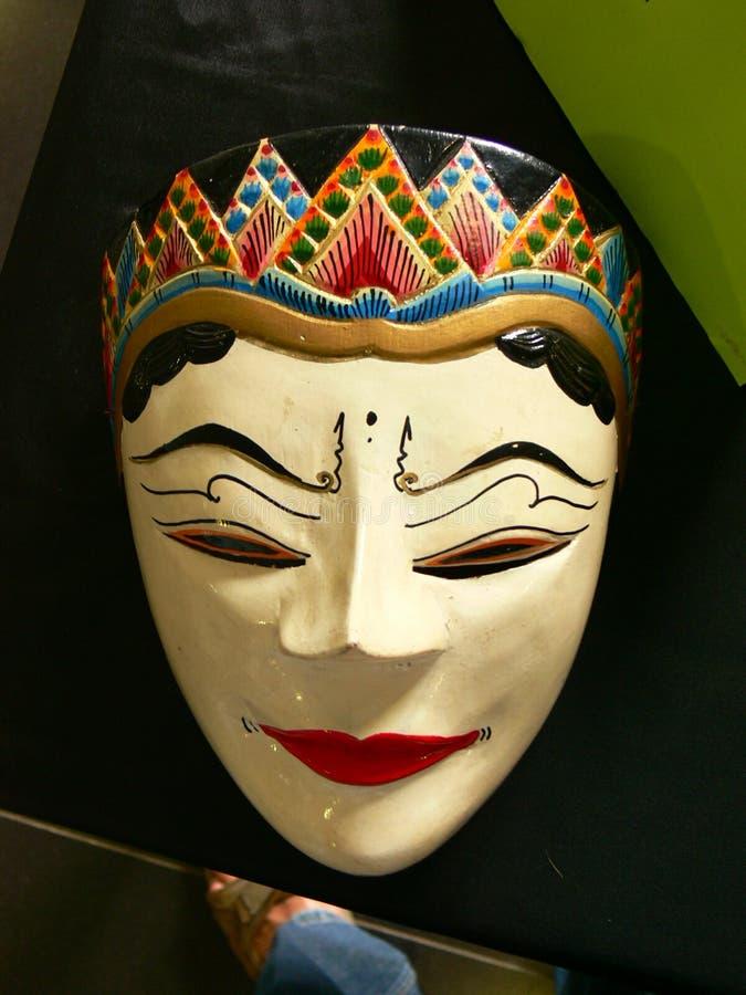 Máscara tradicional del Javanese foto de archivo libre de regalías