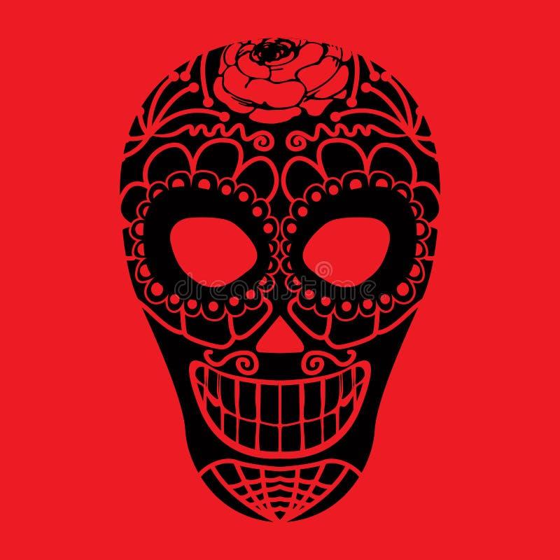 Máscara tribal ilustração stock