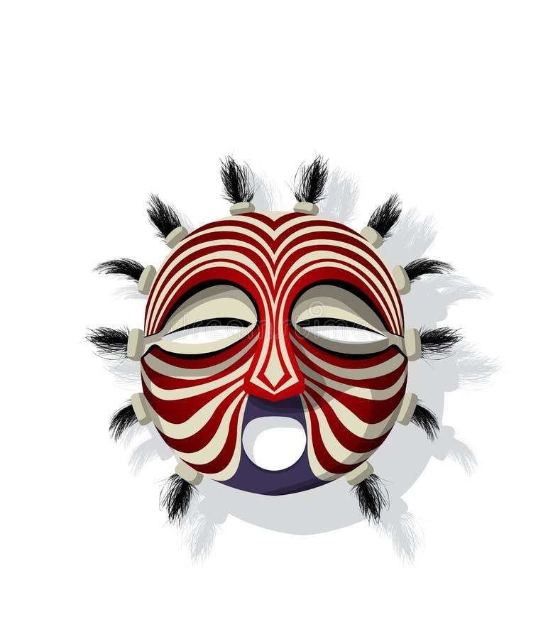 Máscara tribal do vetor ilustração stock