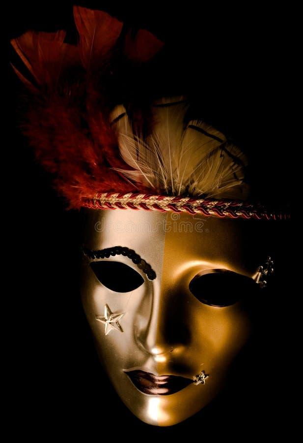 Máscara veneciana adornada imágenes de archivo libres de regalías