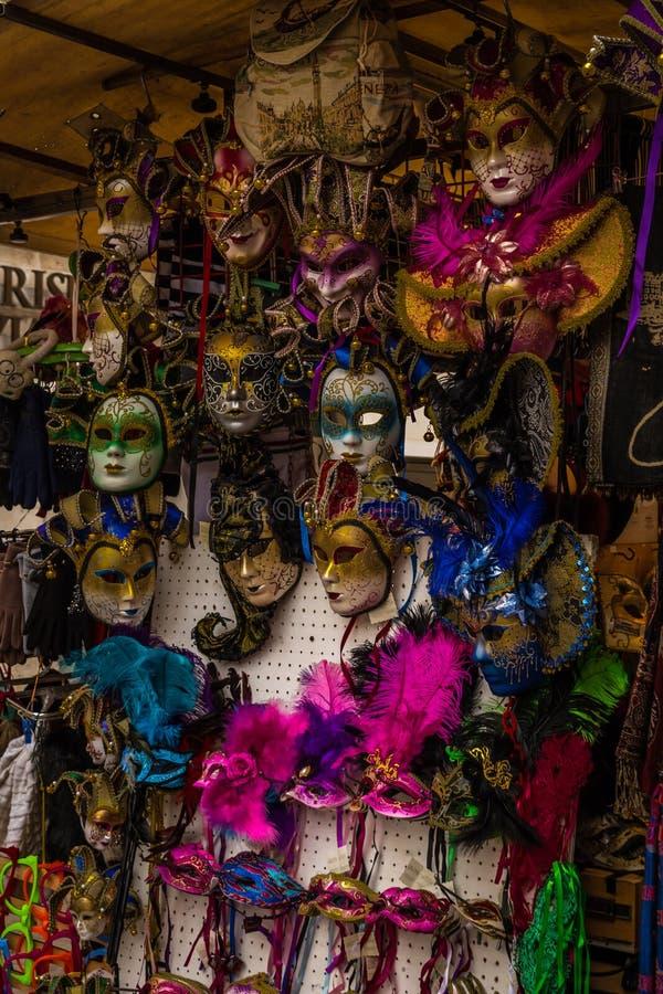 Máscara veneciana, carnaval de Venecia, Venecia, Italia fotografía de archivo libre de regalías
