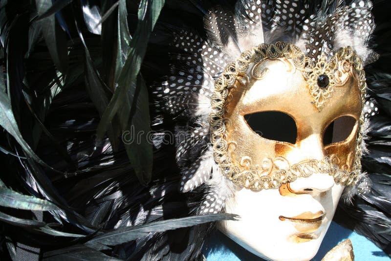 Máscara veneciana tradicional foto de archivo