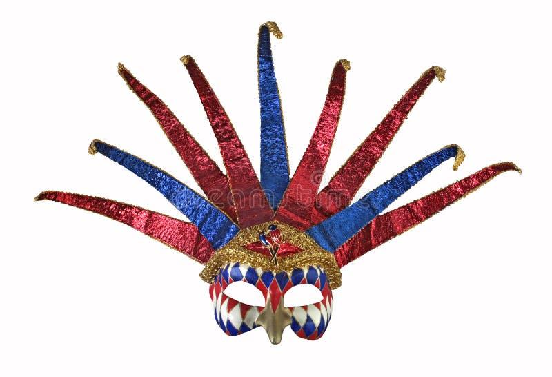 Máscara Venetian 1 do carnaval imagens de stock royalty free