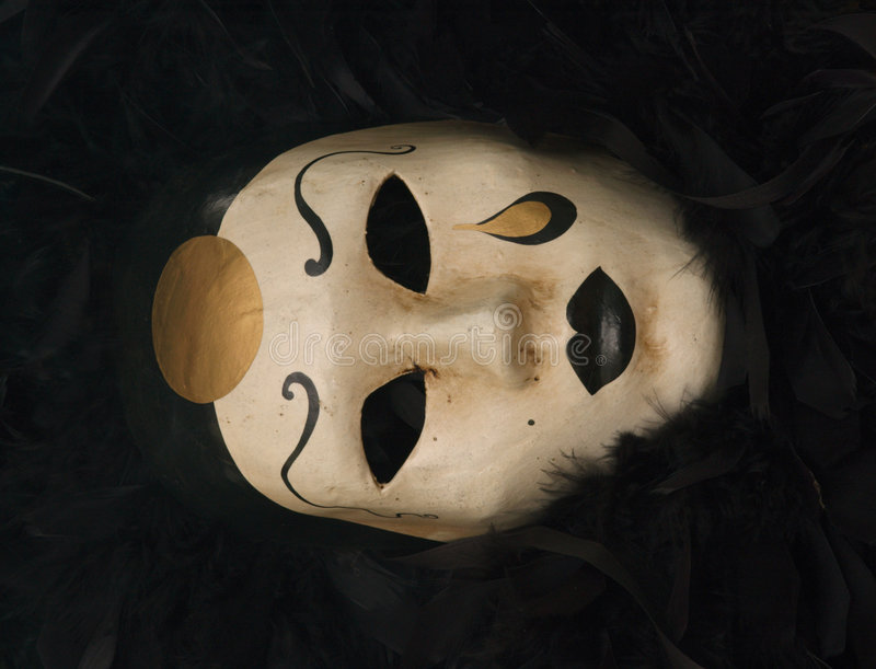 Download Máscara Venetian imagem de stock. Imagem de misterioso - 352865