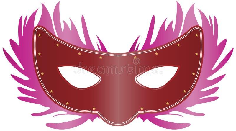Máscara Venetian ilustração do vetor