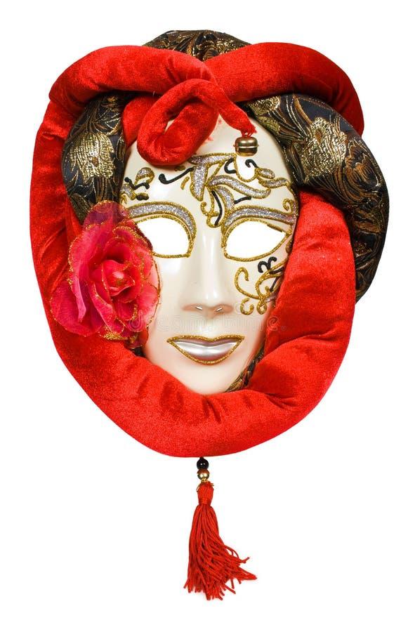 Máscara venetian do carnaval da lua imagens de stock