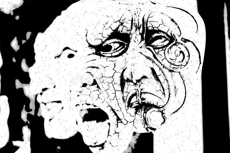 máscaras ilustração do vetor