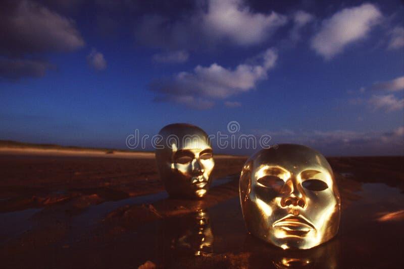 Máscaras fotografia de stock royalty free