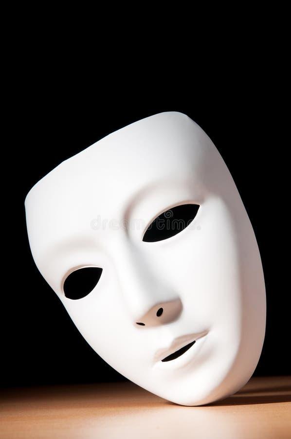 Máscaras com conceito do teatro foto de stock