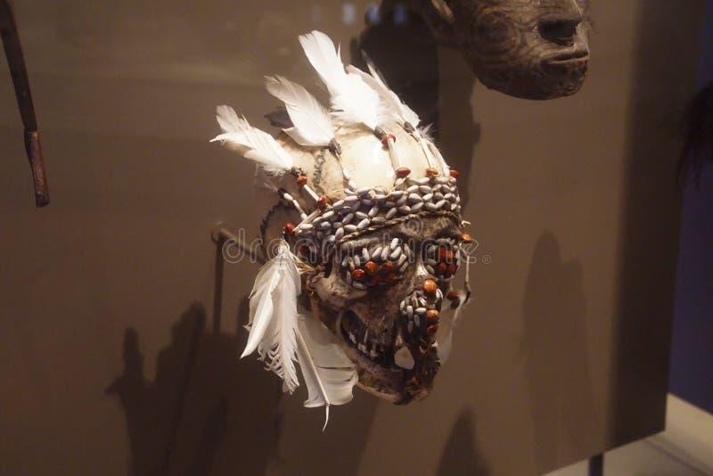 Máscaras da dança dos antepassados fotografia de stock royalty free