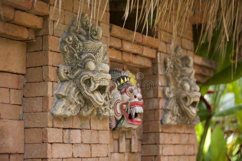 Máscaras de Bali imagen de archivo