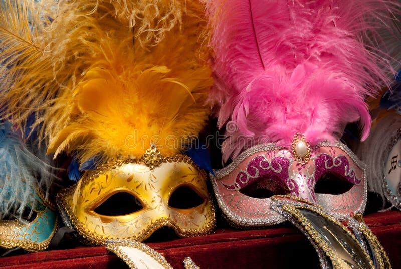 Máscaras de Venecia fotografía de archivo libre de regalías