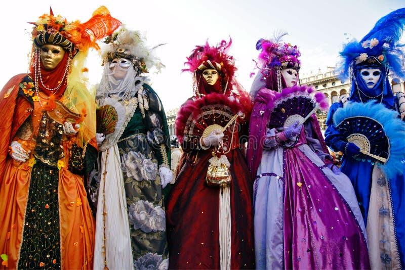 Máscaras de Venecia, carnaval. foto de archivo libre de regalías