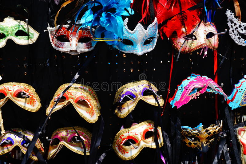 Máscaras de Veneza imagens de stock royalty free