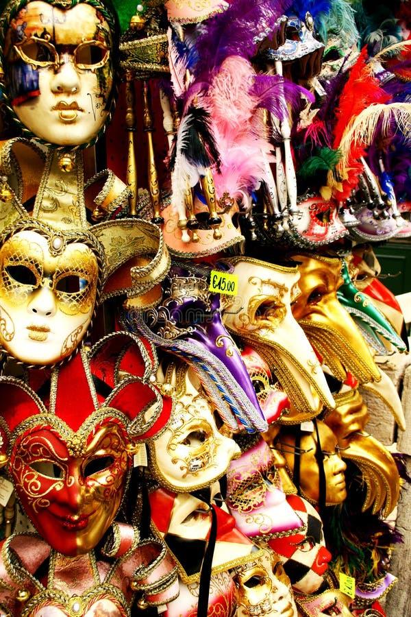Máscaras de Venitien imagen de archivo