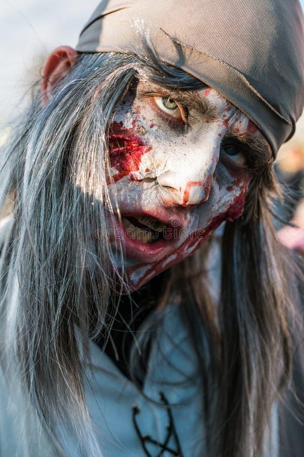 Máscaras del zombi del marinero imágenes de archivo libres de regalías