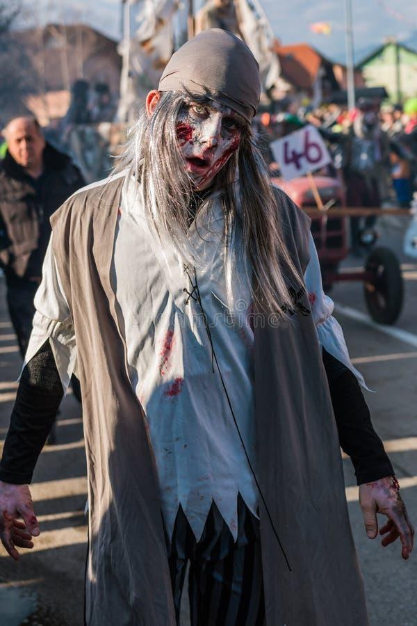 Máscaras del zombi del marinero foto de archivo libre de regalías