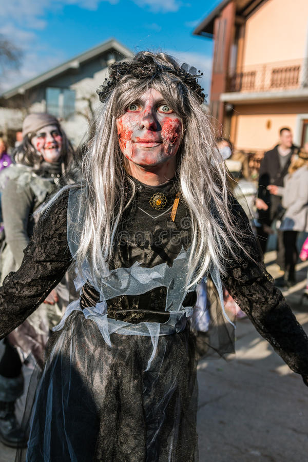 Máscaras del zombi del marinero imagen de archivo libre de regalías
