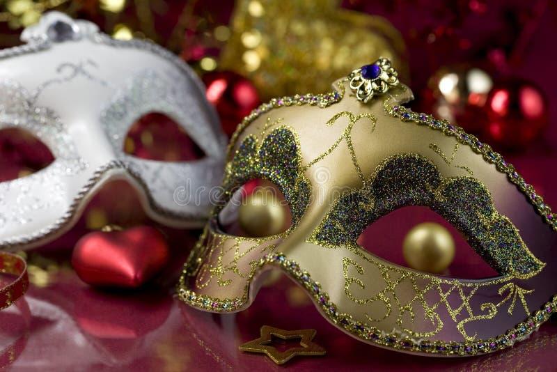 Máscaras divertidas fotografía de archivo libre de regalías