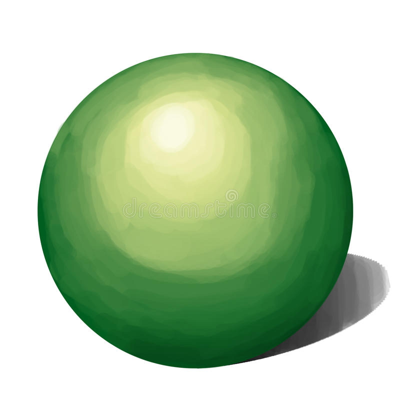 Máscaras do DESEJO verde a forma imagem de stock royalty free