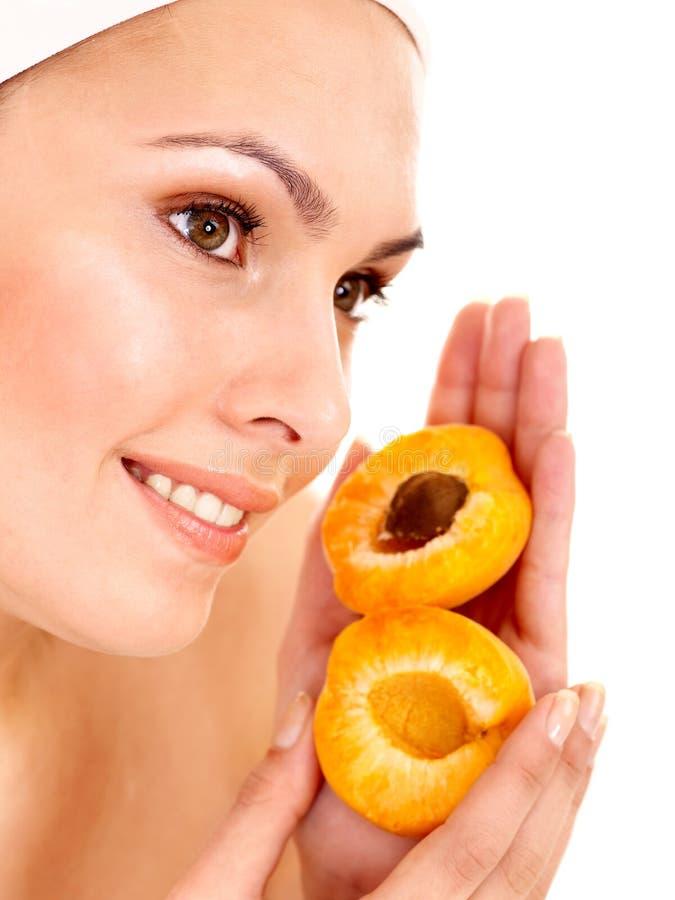 Máscaras do facial da fruta. imagens de stock royalty free