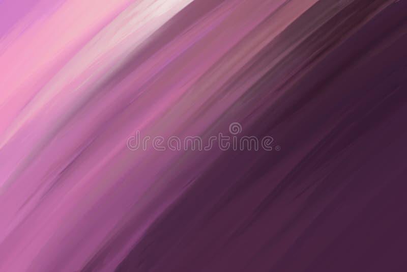 Máscaras do fundo borrado efeito inclinado roxo, abstrato do movimento Projeto abstrato obscuro O teste padrão pode ser usado com ilustração royalty free