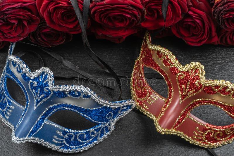 Máscaras dos melhores carnavais no mundo imagens de stock royalty free