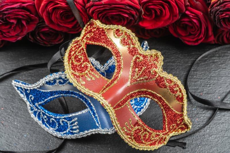 Máscaras dos melhores carnavais no mundo imagem de stock
