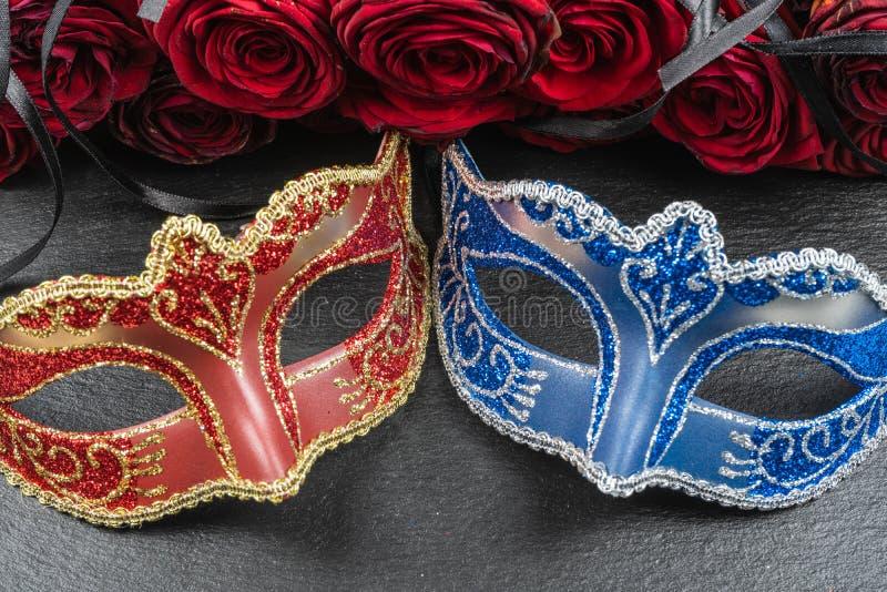 Máscaras dos melhores carnavais no mundo imagem de stock royalty free