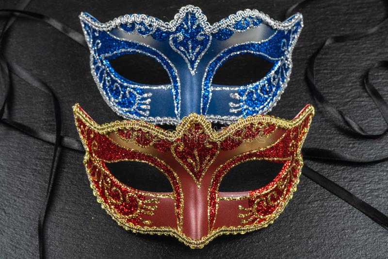 Máscaras dos melhores carnavais no mundo foto de stock royalty free
