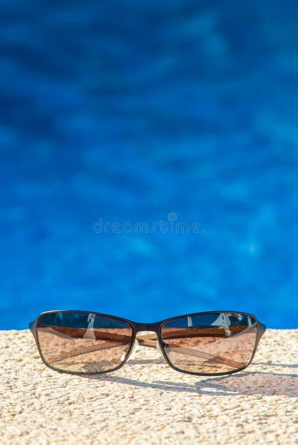 Máscaras frescas da piscina fotografia de stock royalty free