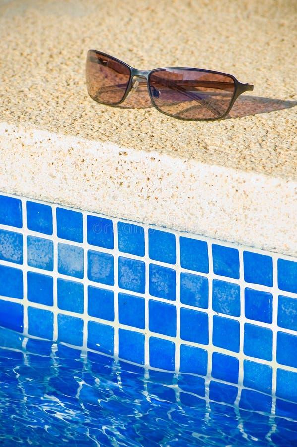 Máscaras frescas da piscina fotos de stock royalty free