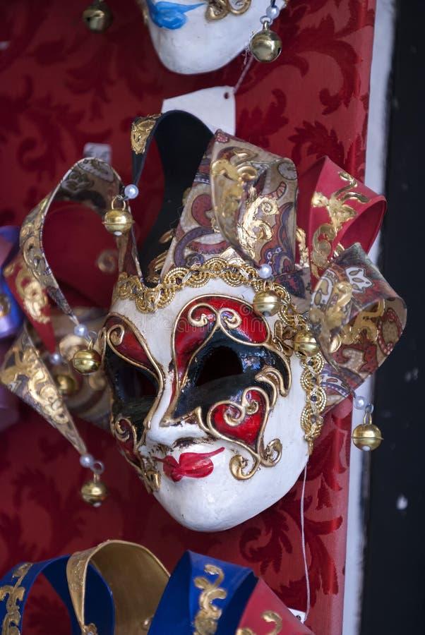 Máscaras hermosas de Venecia en venta foto de archivo libre de regalías