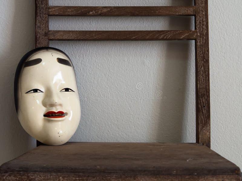 Máscaras japonesas imágenes de archivo libres de regalías
