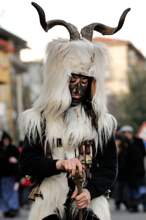 Máscaras tradicionais de Sardinia imagem de stock royalty free