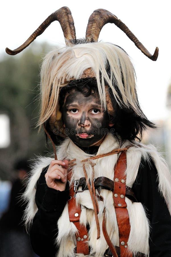 Máscaras tradicionais de Sardinia fotos de stock royalty free