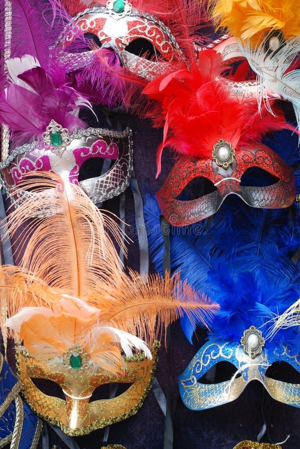 Máscaras Venetian 1 do carnaval fotografia de stock royalty free