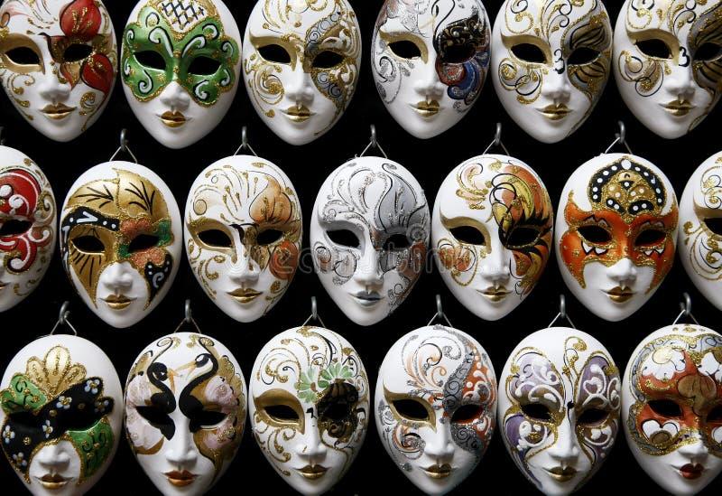 Máscaras Venetian imagem de stock royalty free