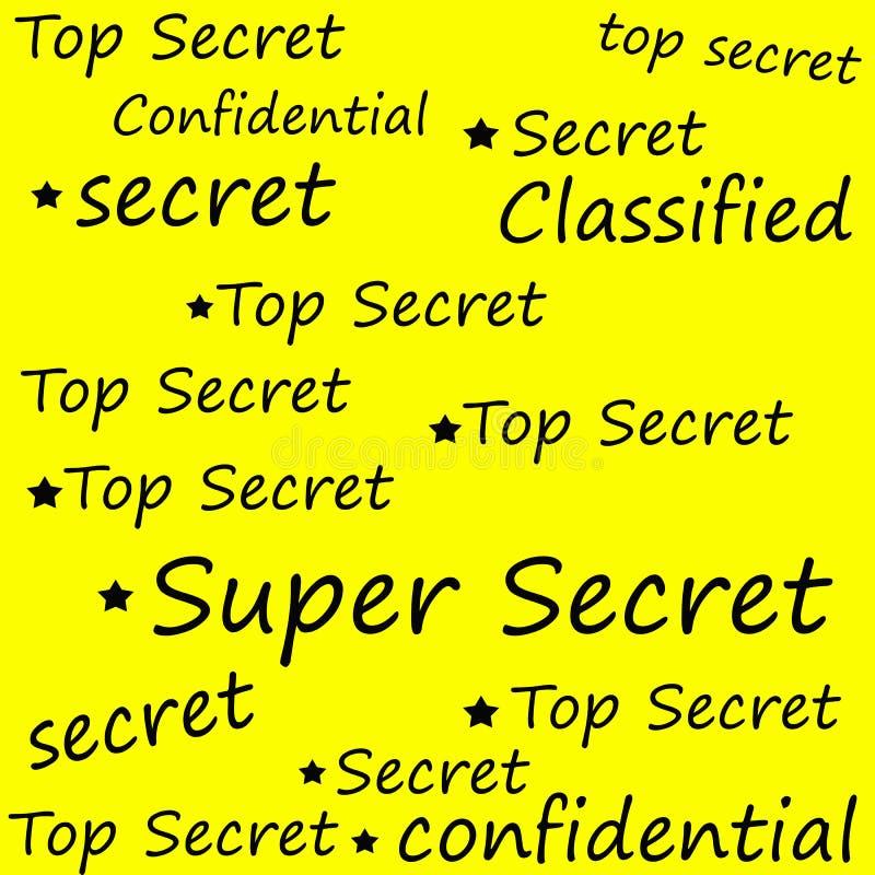 Máximo secreto estupendo libre illustration