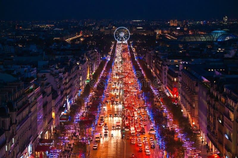 Mâche des elysees, Paris. image libre de droits