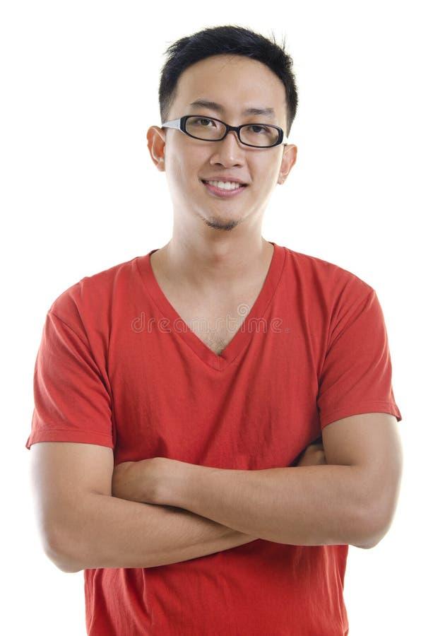 Mâle asiatique photo libre de droits