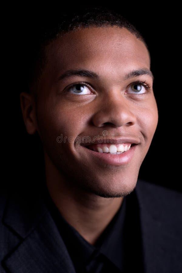 Mâle d'Afro-américain photos stock