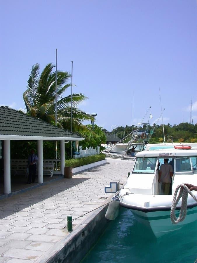 MÂLE, MALDIVES - 30 AOÛT 2003 : Les Maldives. photos libres de droits